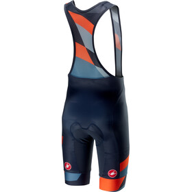 Castelli Tabularasa Short de cyclisme Homme, multicolor/blue/orange